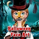 Halloween Face Art